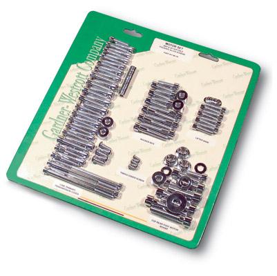 Gardner Westcott Motor Fastener Set for Shovelhead all FX and FLH