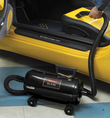 Vac 'N' Blo High Capacity Power Deluxe Wall Mount Vacuum Cleaner and Power Blower
