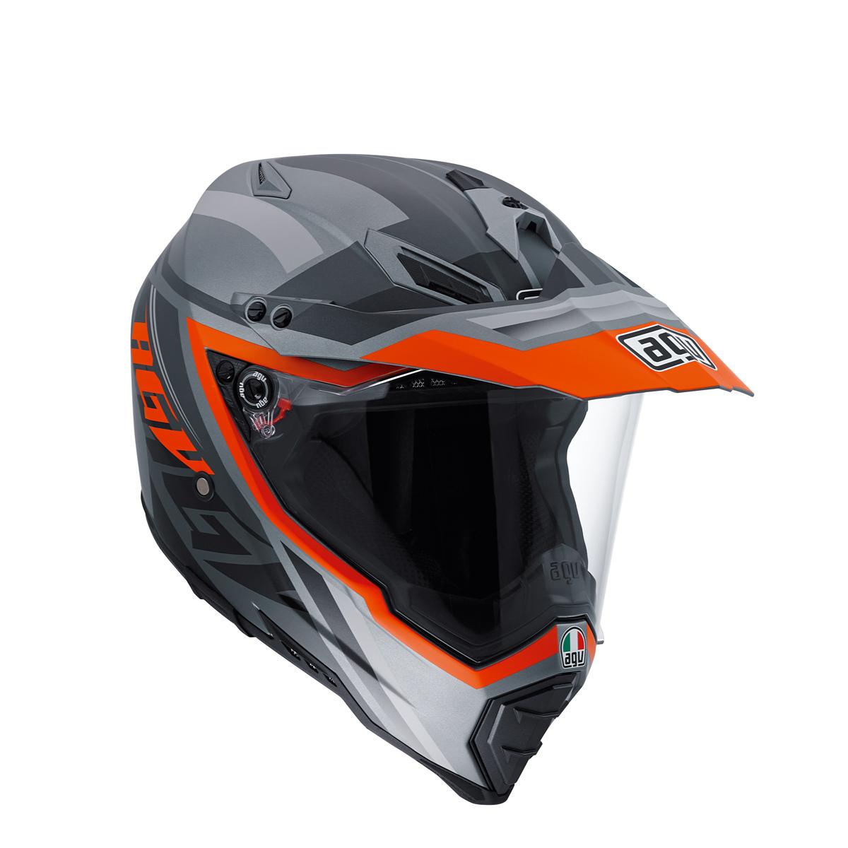 AGV AX-8 Dual Evo Karakum Camo Dual Sport Helmet