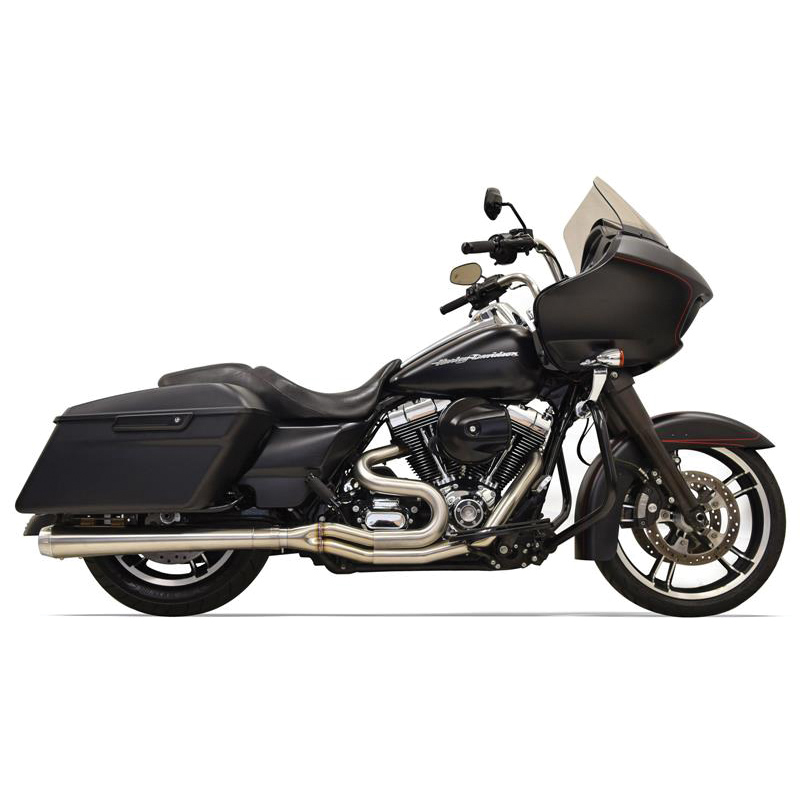 Bassani Road Rage Iii 2 Into 1 Exhaust Stainless Steel Long Megaphone: Road King Exhaust Systems At Woreks.co