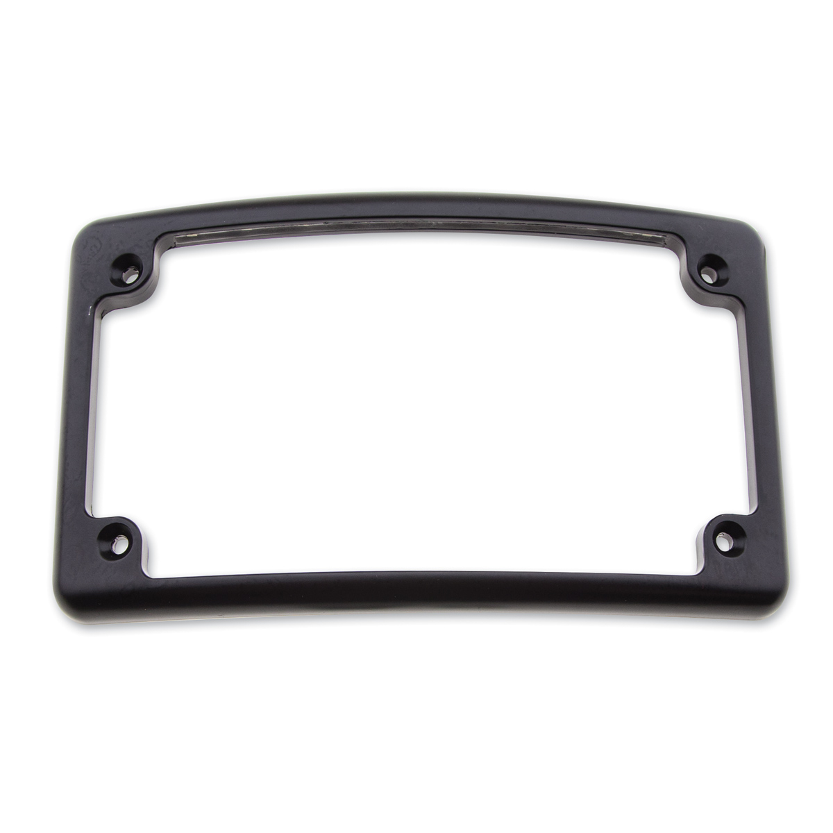 Milwaukee Twins LED Curved License Plate Frame Black