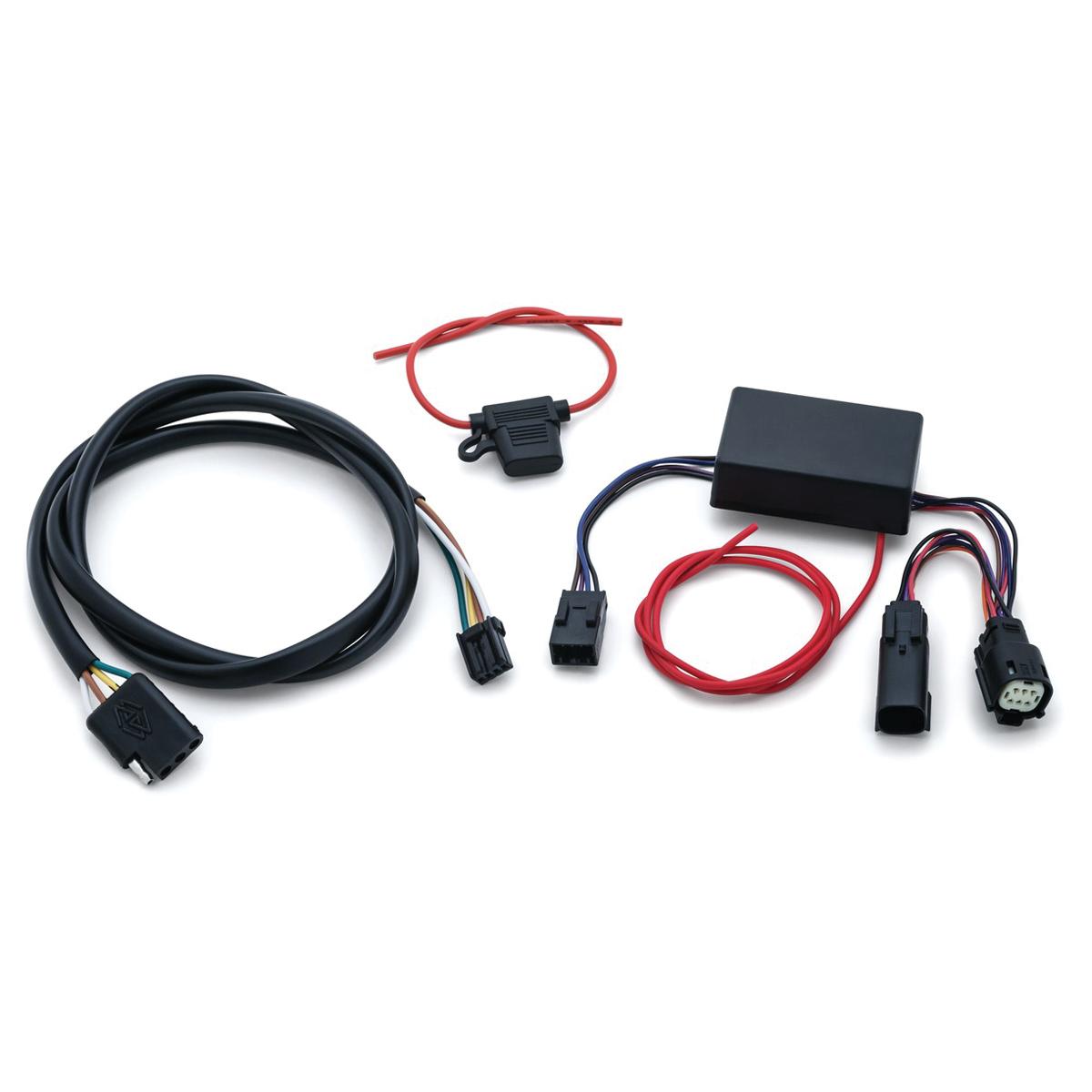 Kuryakyn 4-Wire Trailer Hitch Wiring Kit - 2596 on
