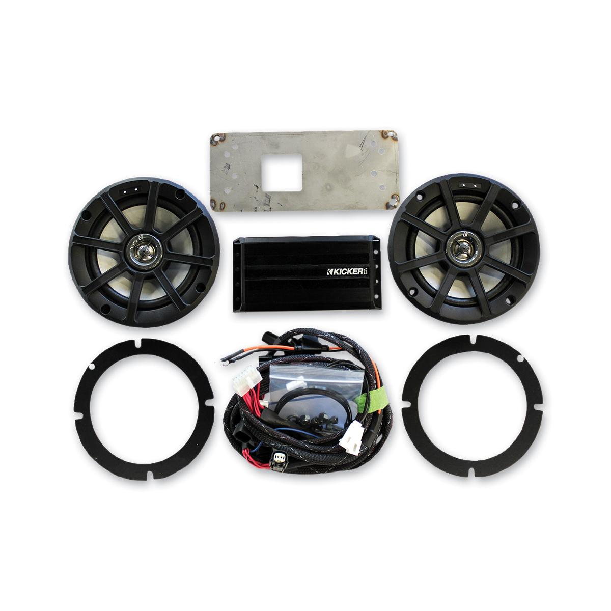 Klock Werks 6-1/2″ Audio Fit Kits Powered by KICKER