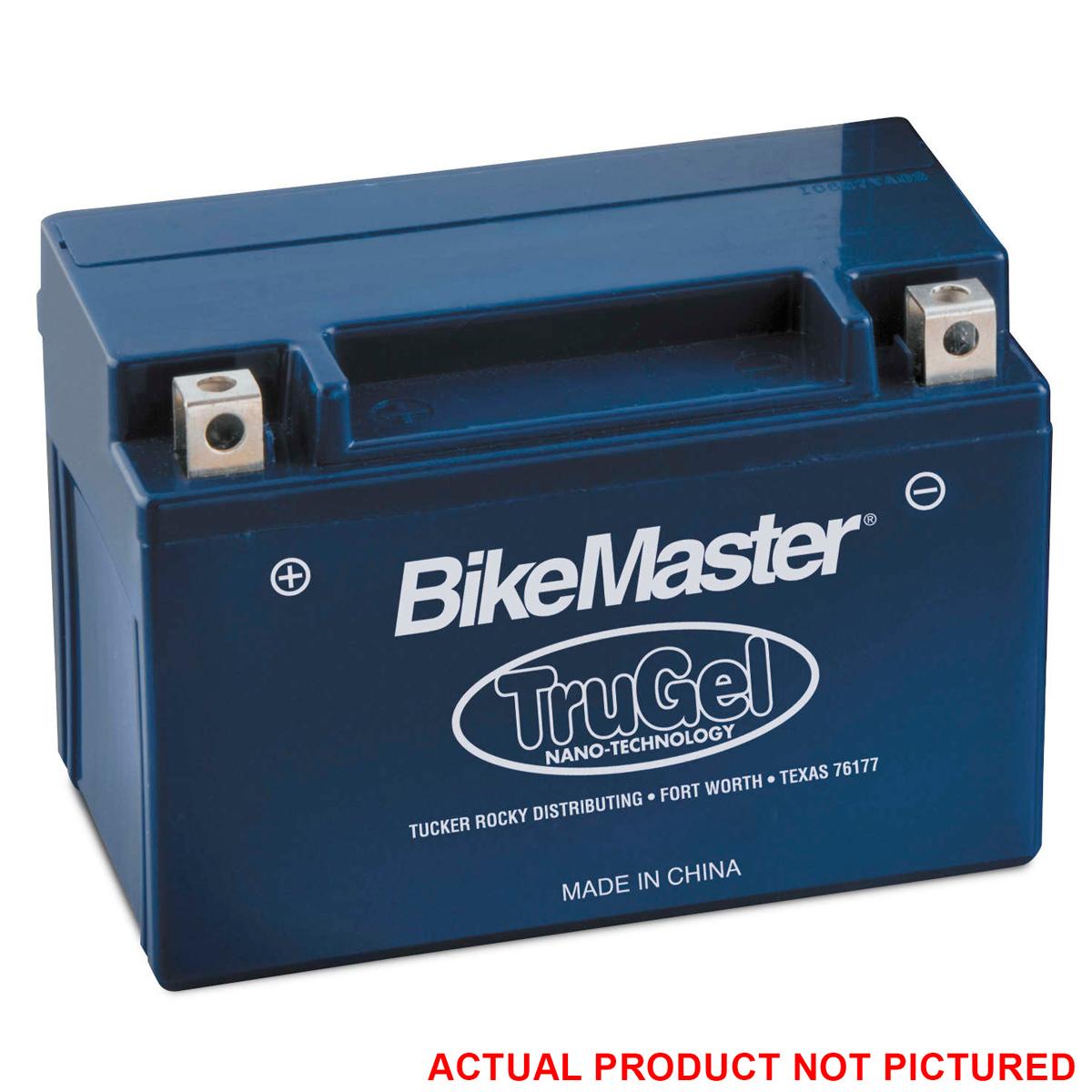 bikemaster trugel battery 912 306 j p cycles. Black Bedroom Furniture Sets. Home Design Ideas
