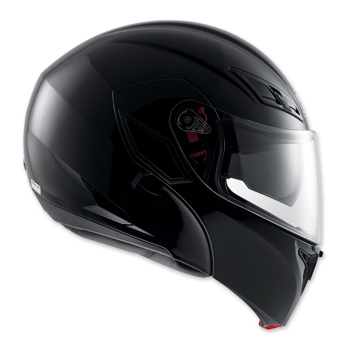 AGV Numo Evo ST Gloss Black Modular Helmet