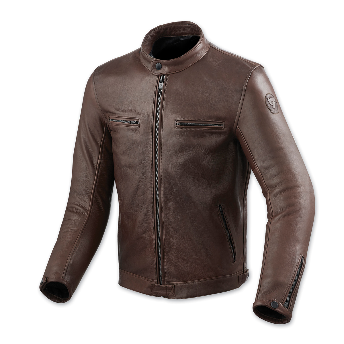 REV′IT! Men's Gibson Brown Leather Jacket
