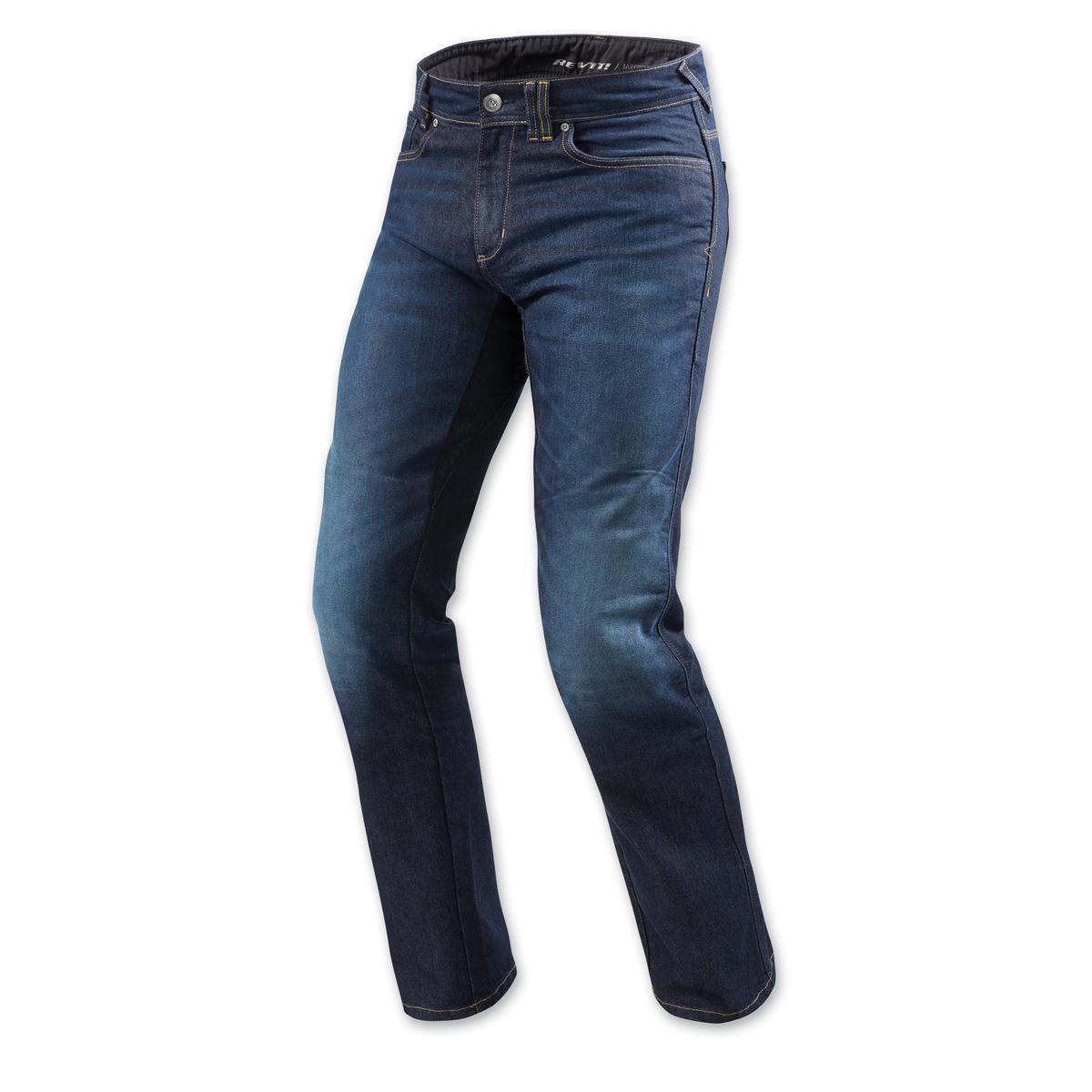 REV′IT! Men's Philly 2 Dark Blue Jeans