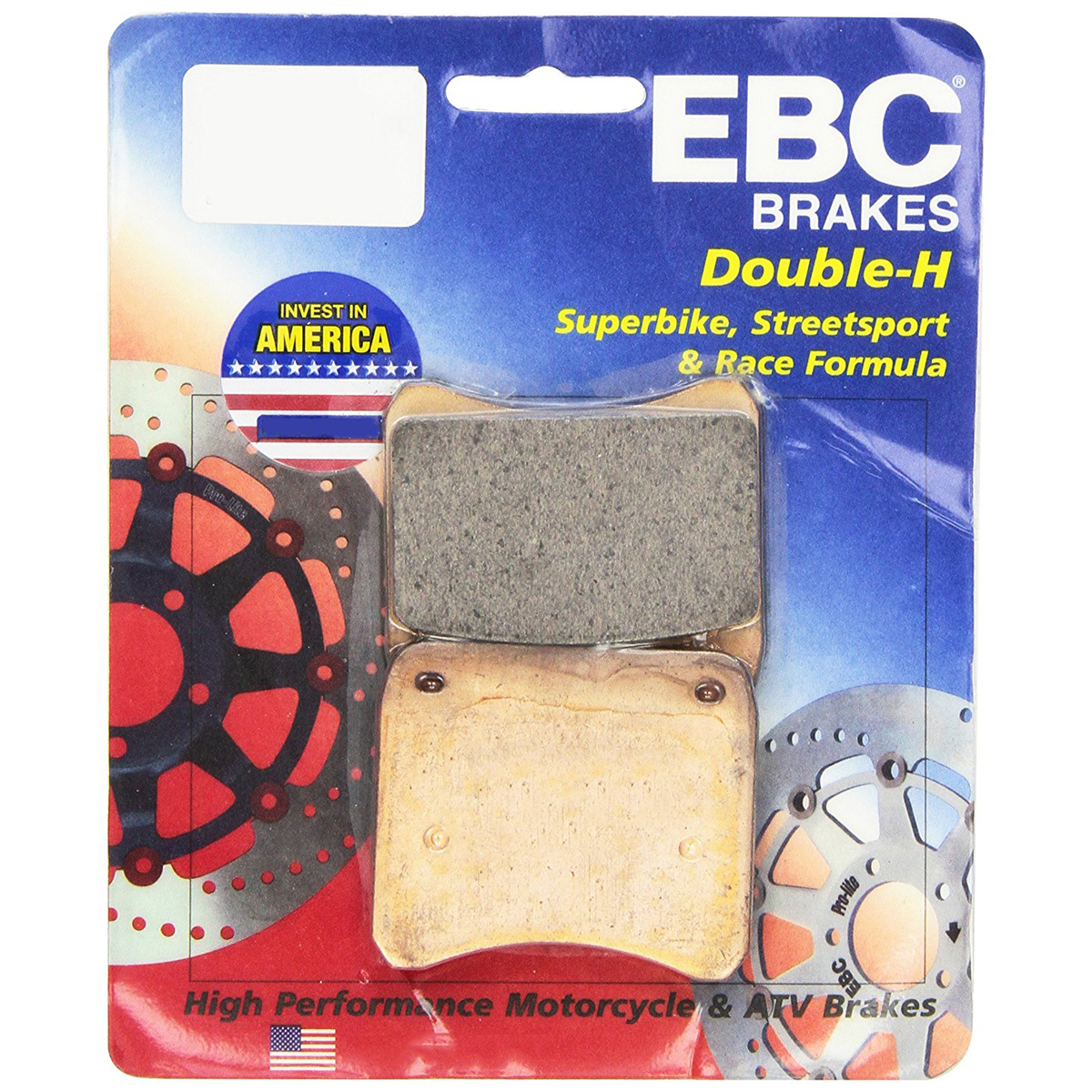 EBC Double-H HH Sintered Superbike Brake Pads FA629HH One Pair
