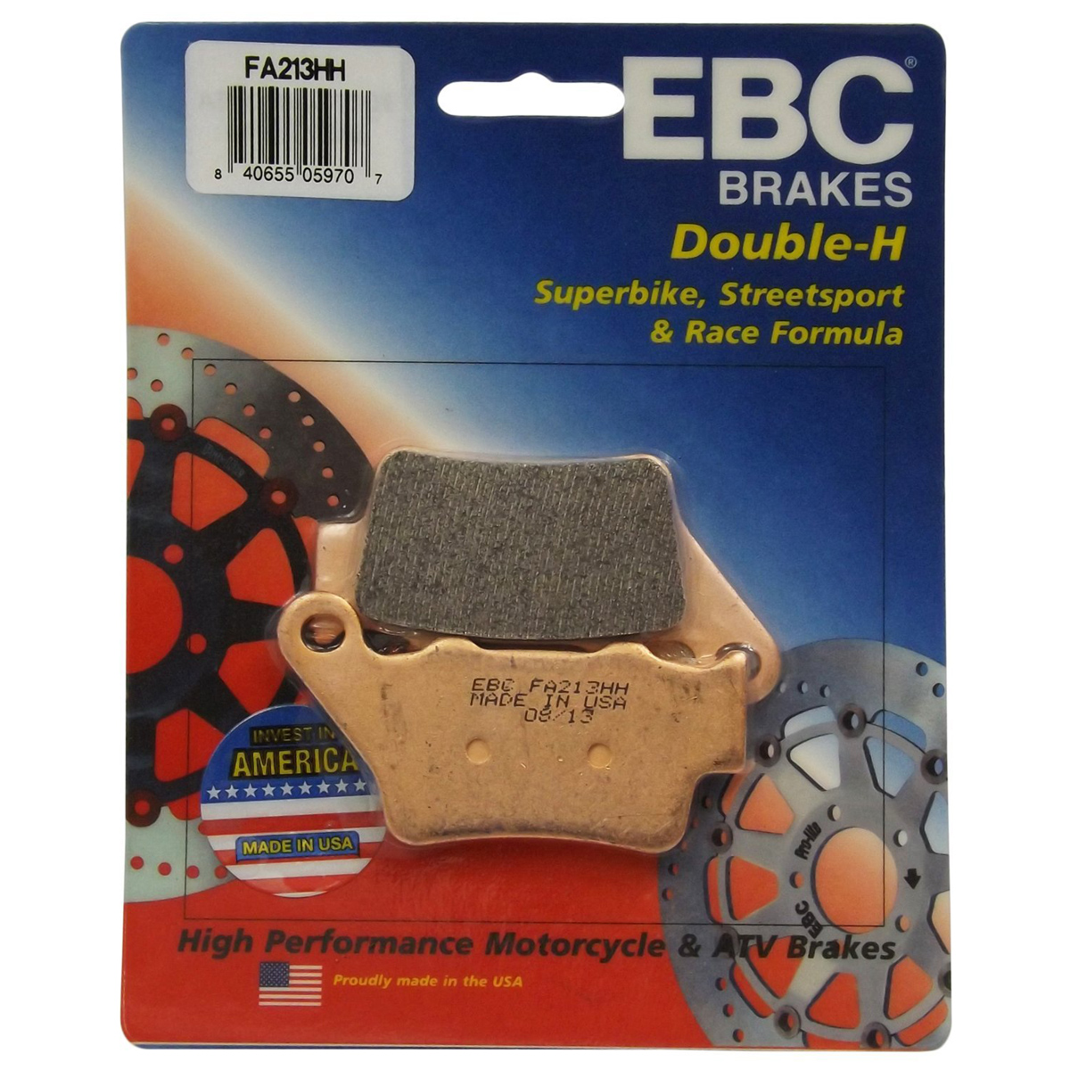 EBC HH Sintered Superbike Front Brake Pads FA630HH BMW S 1000 XR ABS 2015-2018