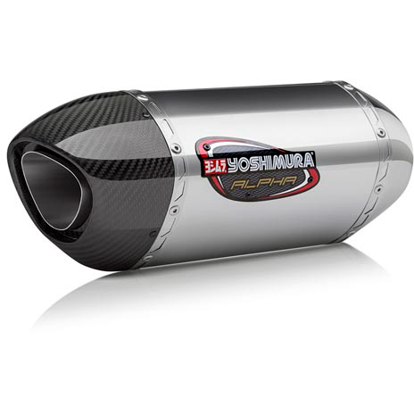 Yoshimura Alpha Street Series Slip-On Exhaust