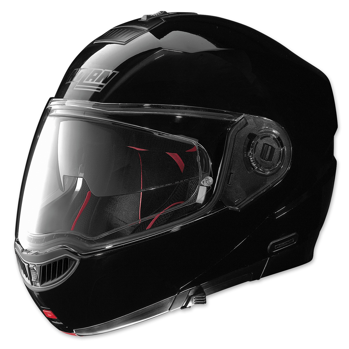 Nolan N104 Absolute MCS Gloss Black Modular Helmet
