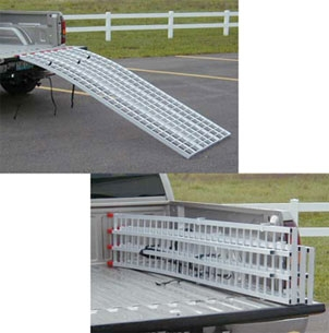 Five Star Manufacturing Aluminum 3- Piece Motorcycle Ramp