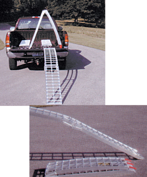 Aluminum 2-Piece Folding Motorcycle Ramp