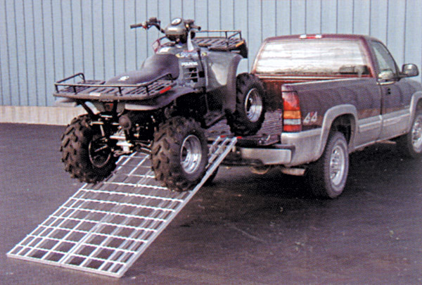 Five Star Manufacturing Aluminum Double Rod Motorcycle Ramp