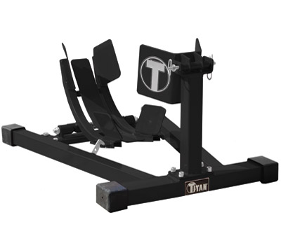 Titan Lifts Black Bulldog Moto Cradle Wheel Chock