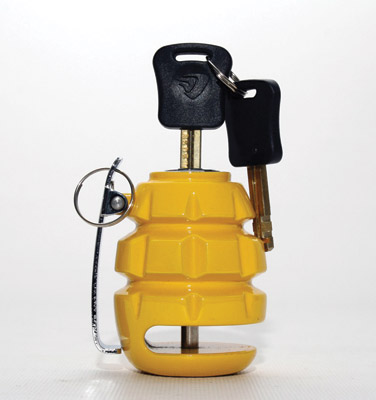 Deemeed Yellow Grenade Disc Lock