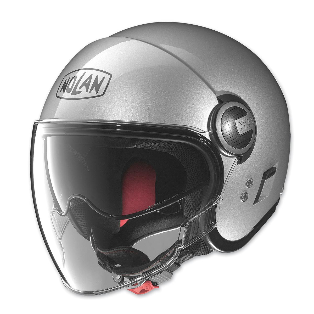 Nolan N21 Visor Silver Open Face Helmet