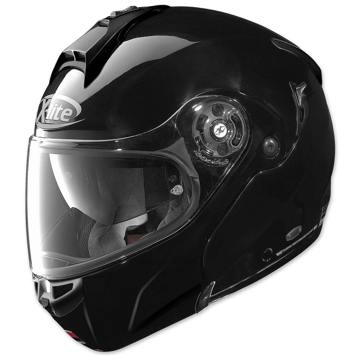 X-Lite X-1004 XCom Gloss Black Modular Helmet