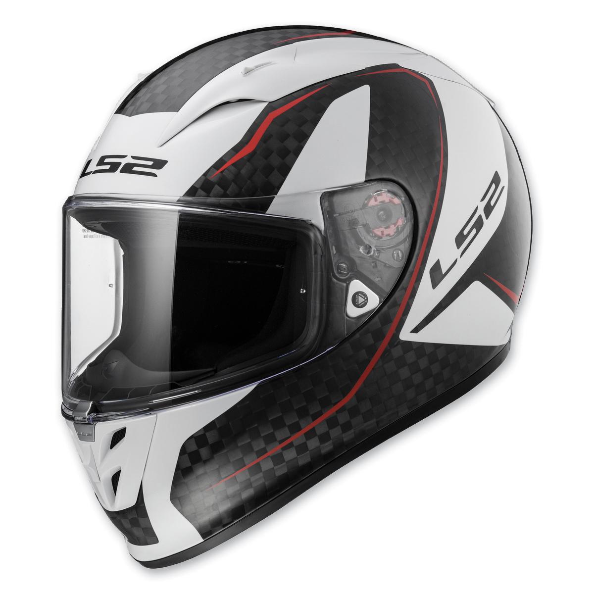 LS2 Arrow Carbon Fury Full Face Helmet