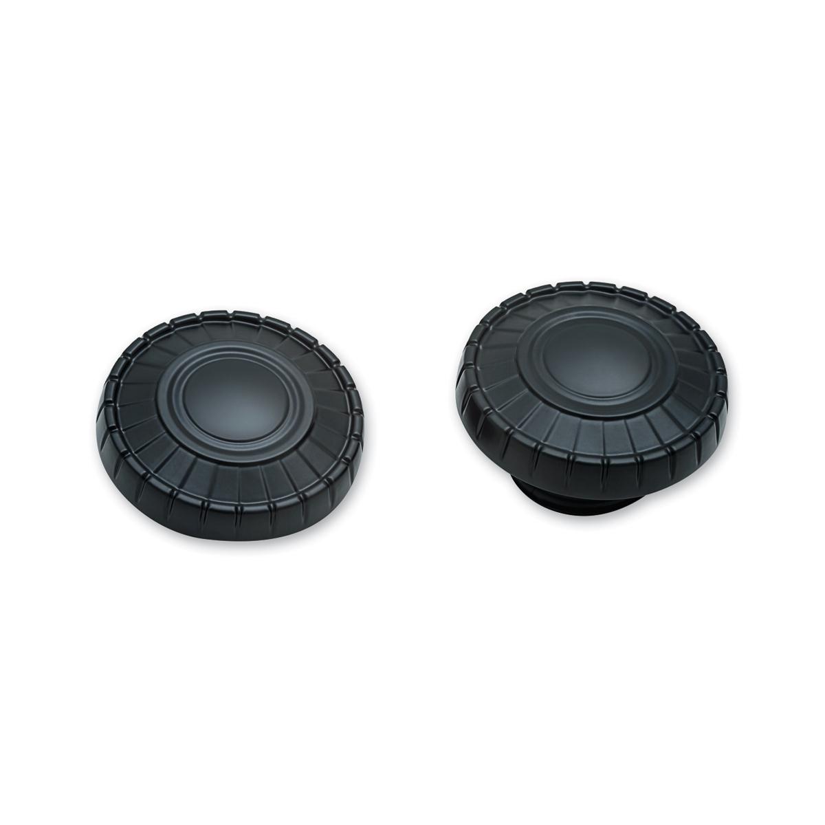 Kuryakyn Aztec Black Gas Caps