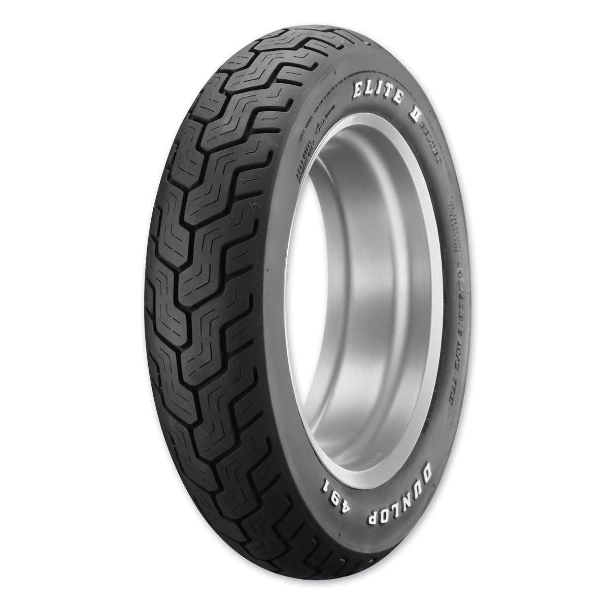 Dunlop d491 elite ii 140 90b16 rear tire 921 850 jp for Dunlop white letter motorcycle tires