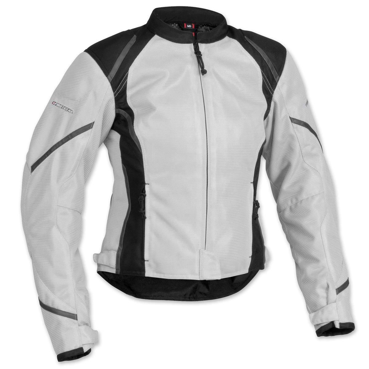 Firstgear Women's Mesh Tex Silver Jacket