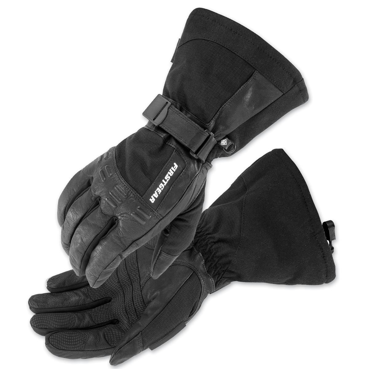Firstgear Men's Master Black Gloves