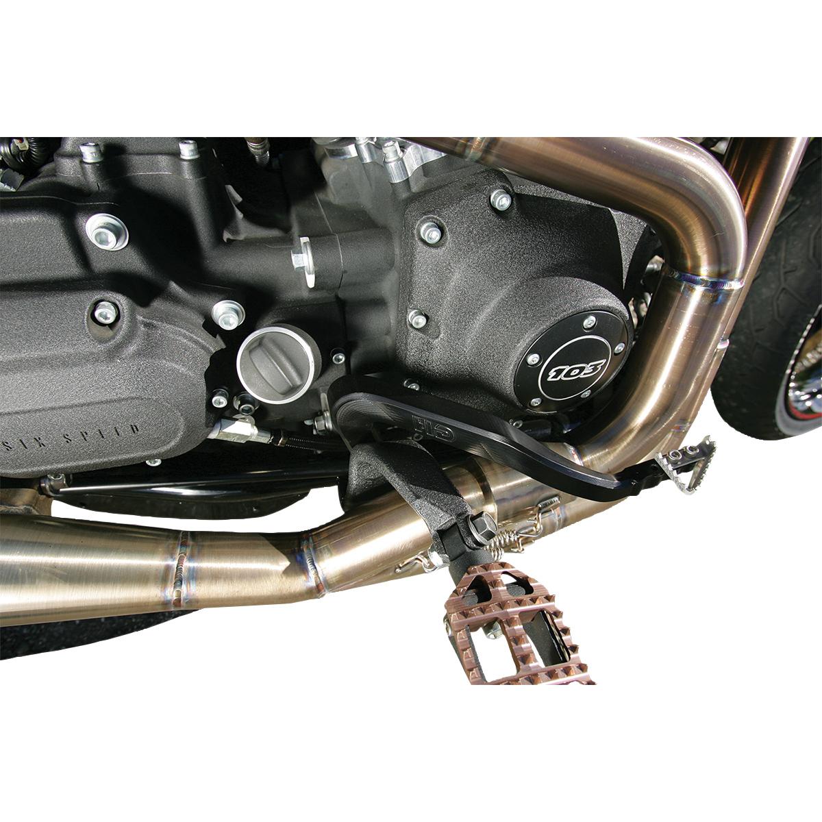 Hammerhead Designs Inc. Black Rear Brake Arm with Silver Fixed Tip