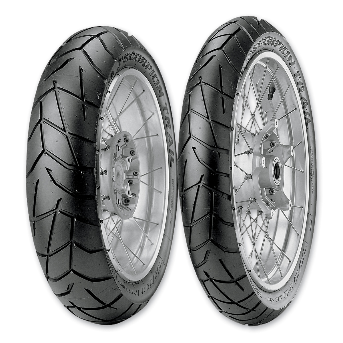 pirelli scorpion trail 2 120 70zr17 front tire 2526300. Black Bedroom Furniture Sets. Home Design Ideas