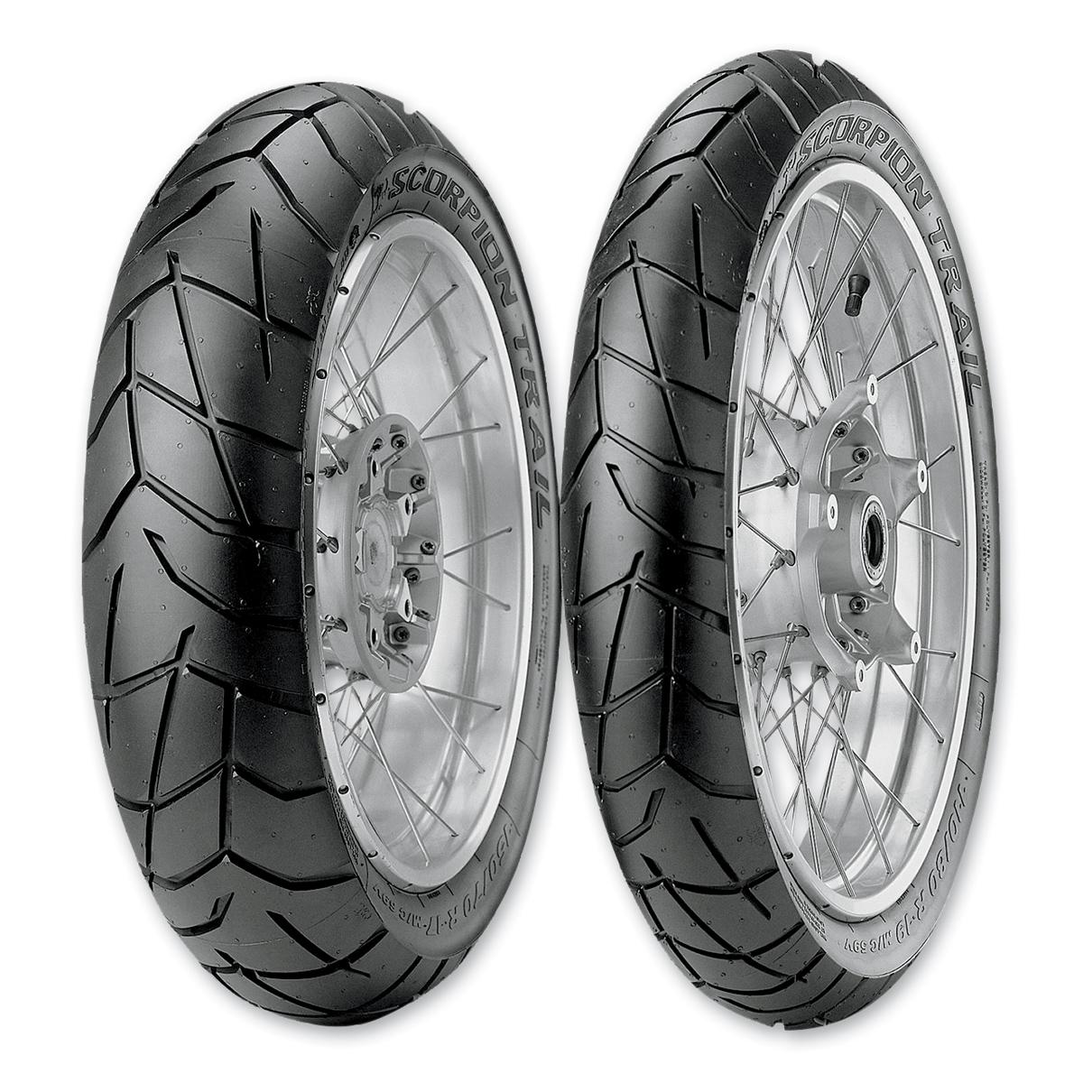 pirelli scorpion trail 2 150 70r17 rear tire 922 252 j p cycles. Black Bedroom Furniture Sets. Home Design Ideas