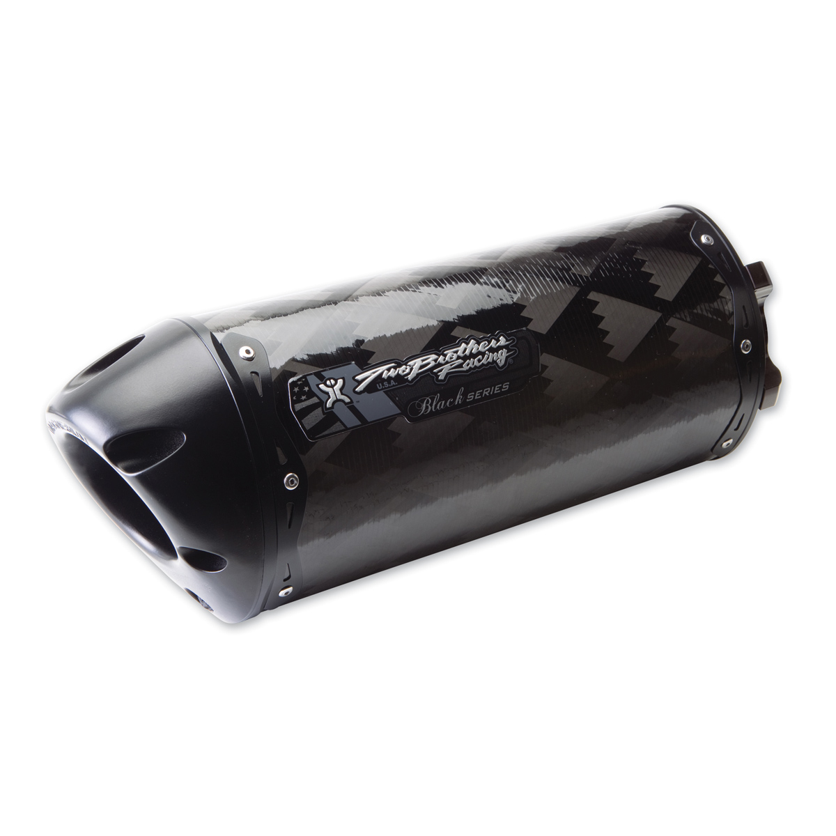 Two Brothers Racing Carbon Fiber M-2 Black Series Slip-On Exhaust