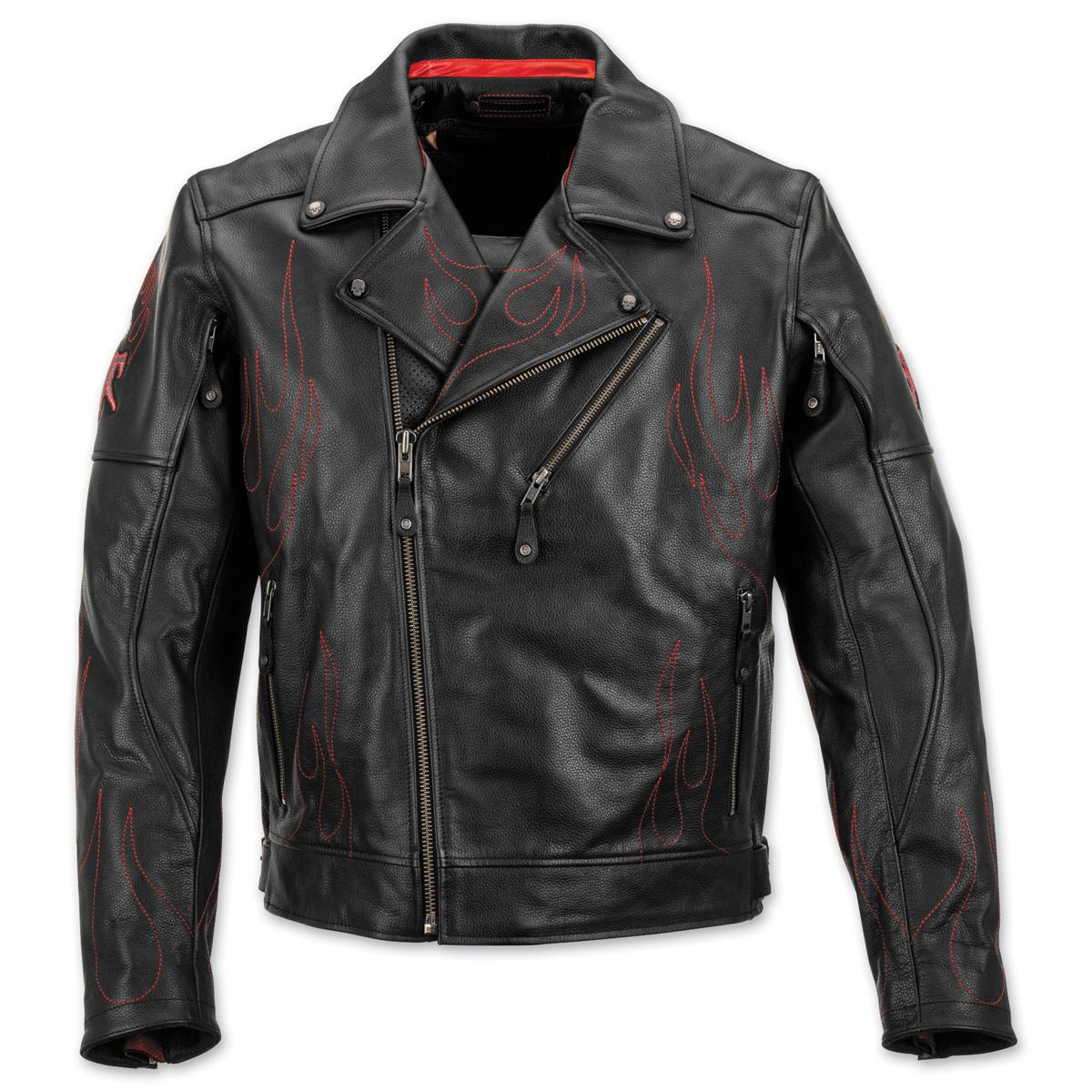 Black Brand Men's Spontaneous Human Combustion Leather Jacket