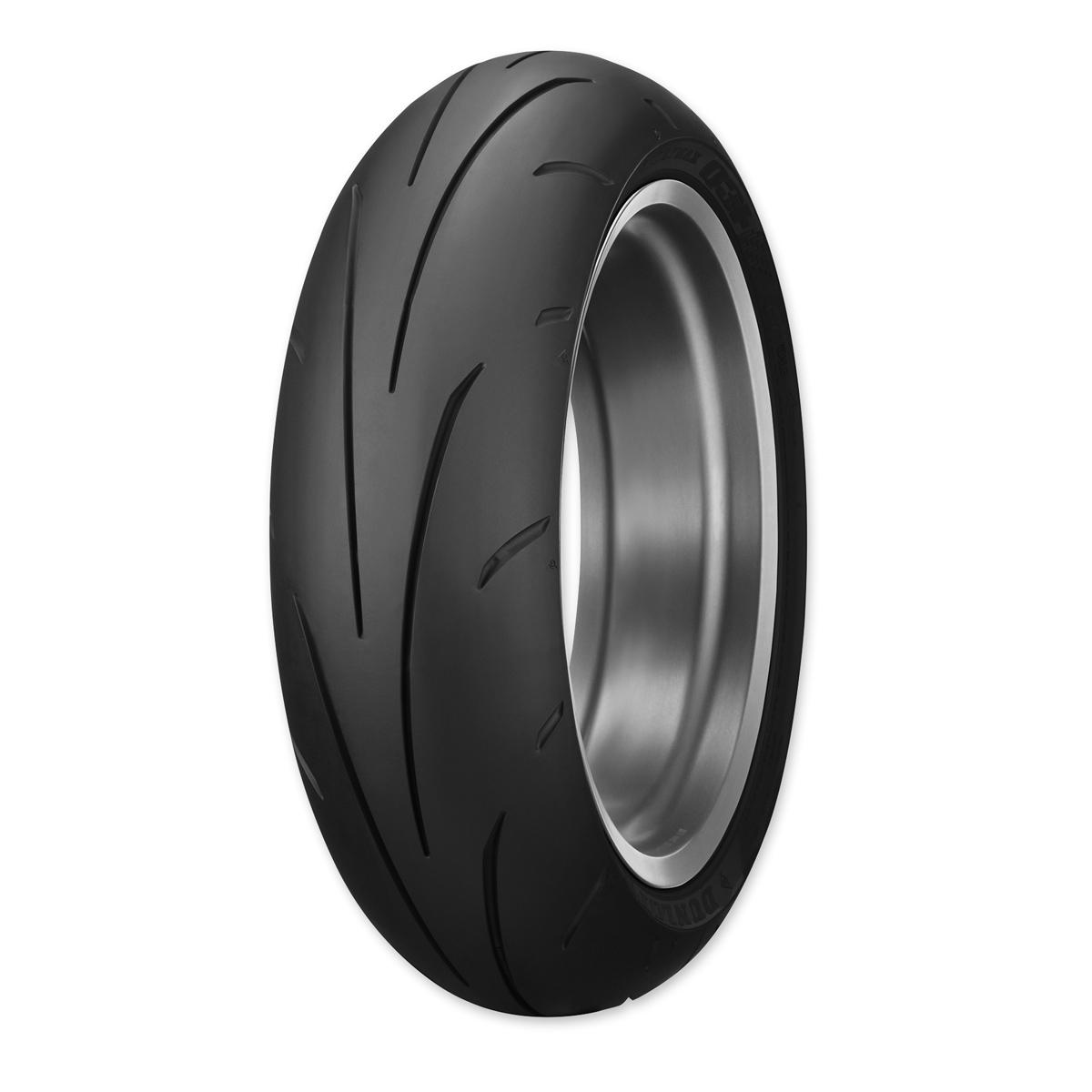 Dunlop Sportmax Q3+ 180/55ZR17 Rear Tire