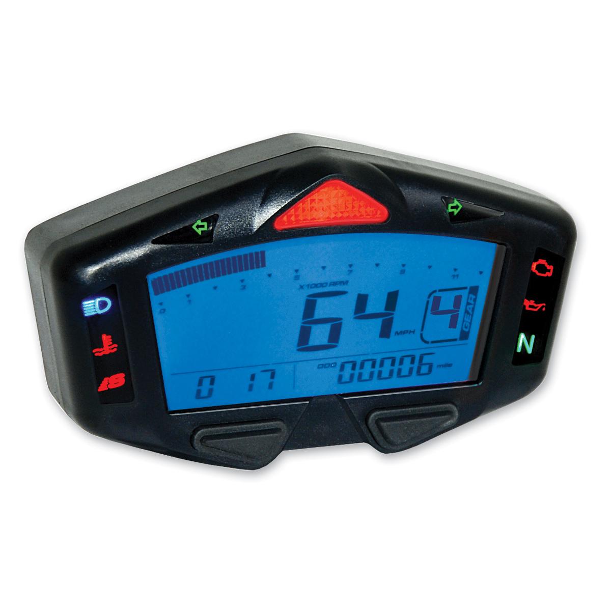 Koso DB-03 Digital LCD Speedometer
