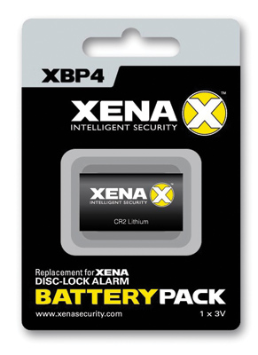 Xena XX Series Security Disc Lock Alarm Battery Pack