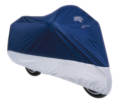 Nelson-Rigg Defender Deluxe Navy Motorcycle Cover
