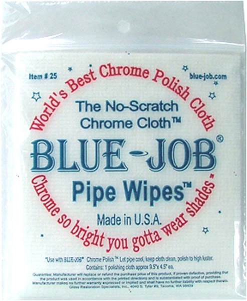 Blue-Job Pipe Wipes