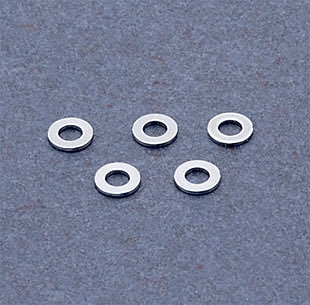 J&P Cycles® Chrome Flat Washers