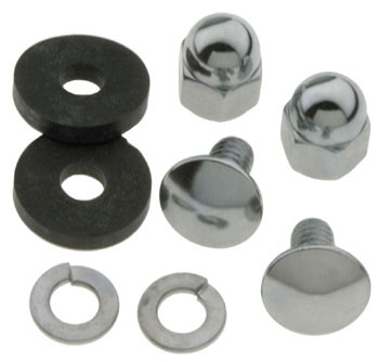Bolts and Acorn Nuts with 2 Rubber Insulators