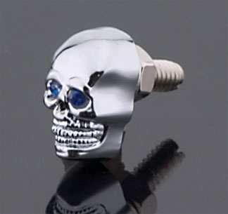 J&P Cycles® Skull Krommet