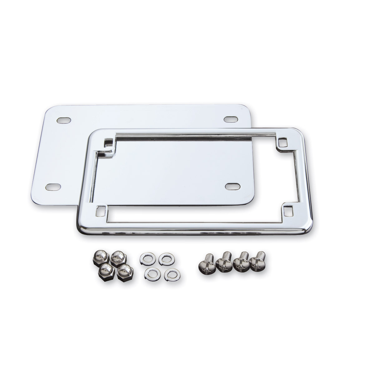 J&P Cycles® License Frame and Backing Plate Set