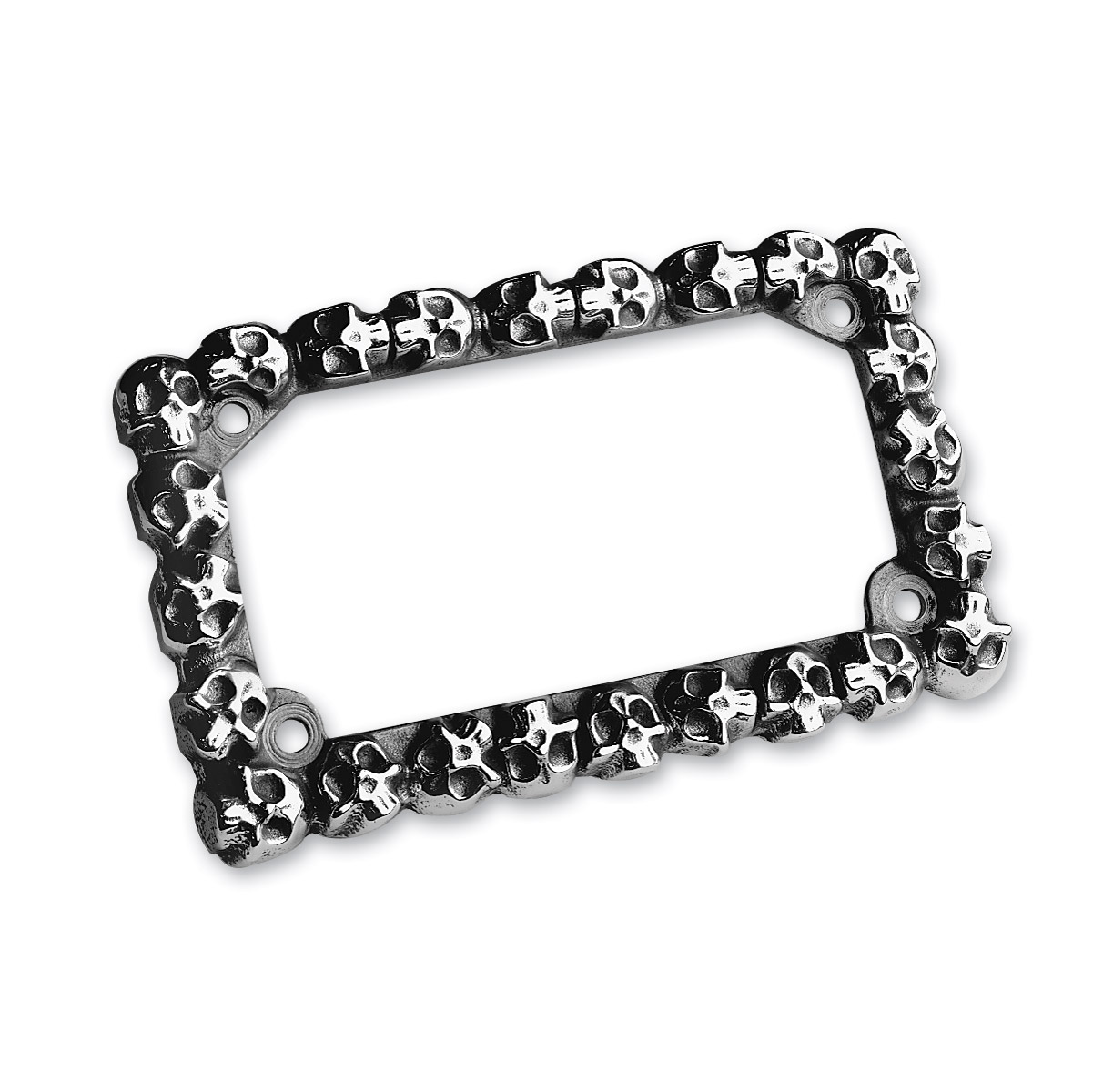 J&P Cycles® \'Skull\' License Plate Frame | 9700110 | J&P Cycles