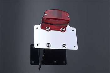 J&P Cycles® Custom Taillight and License Mount Side-Mount