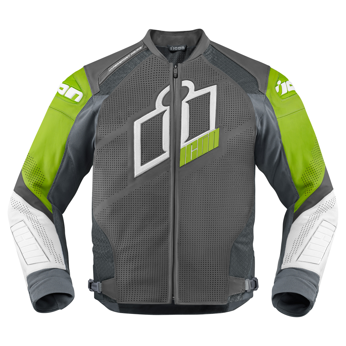 ICON Men's Hypersport Prime Green Jacket