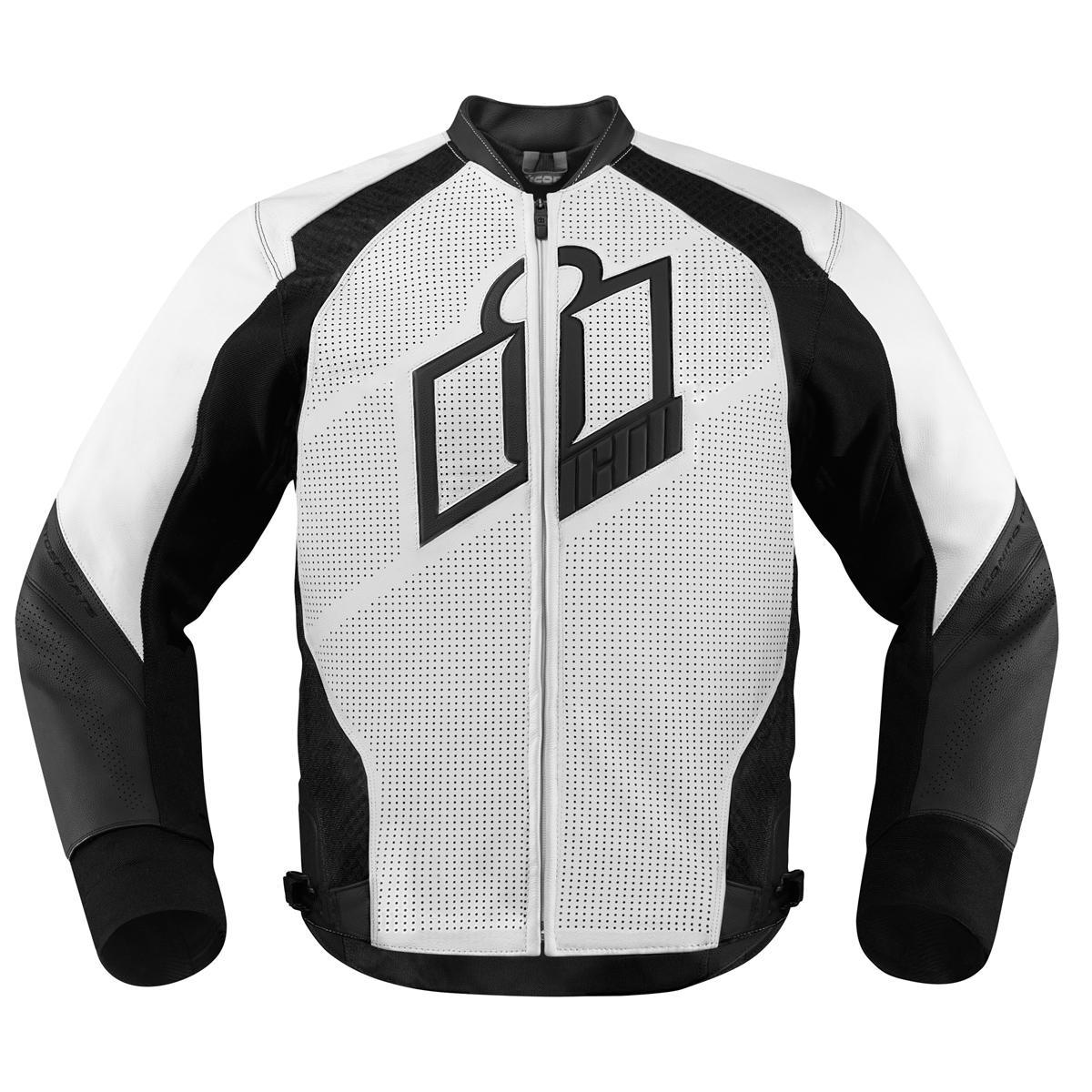 ICON Men's Hypersport White Jacket
