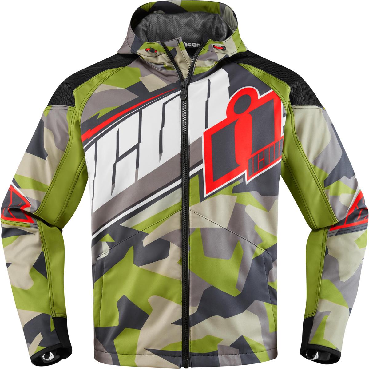 ICON Men's Merc Deployed Green Jacket
