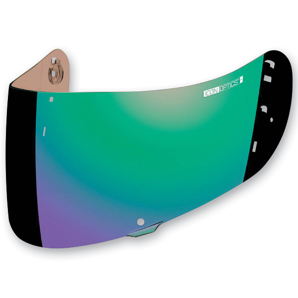 ICON RST Green Optics Shield For Airframe Pro and Airmada Helmets