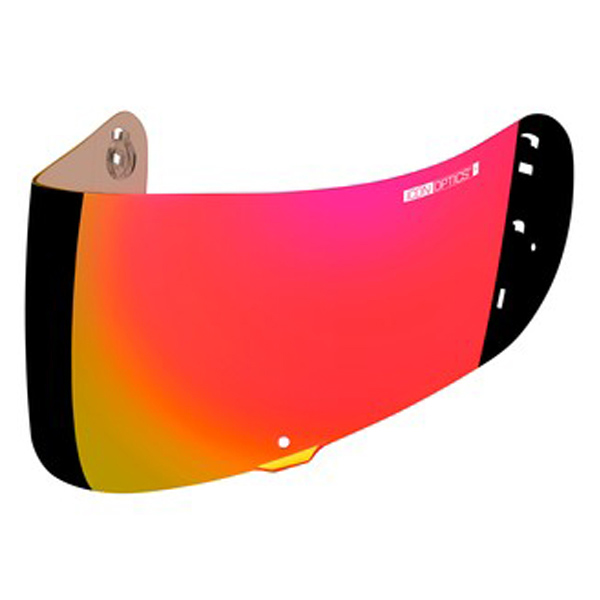 ICON RST Red Optics Shield For Airframe Pro and Airmada Helmets