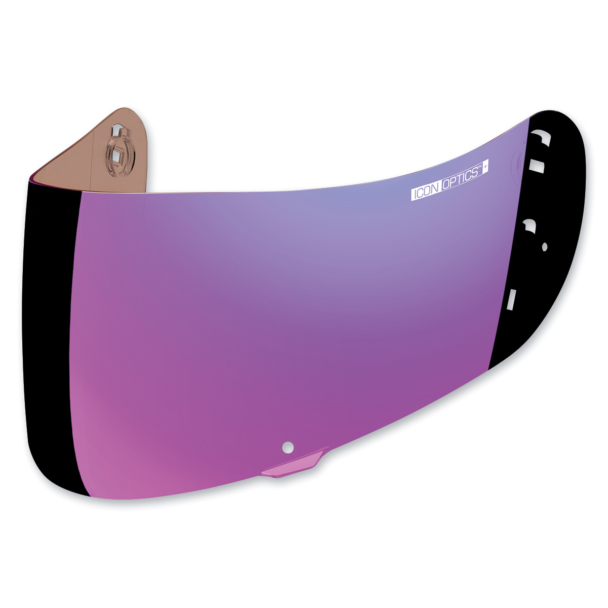 ICON RST Purple Optics Shield For Airframe Pro and Airmada Helmets