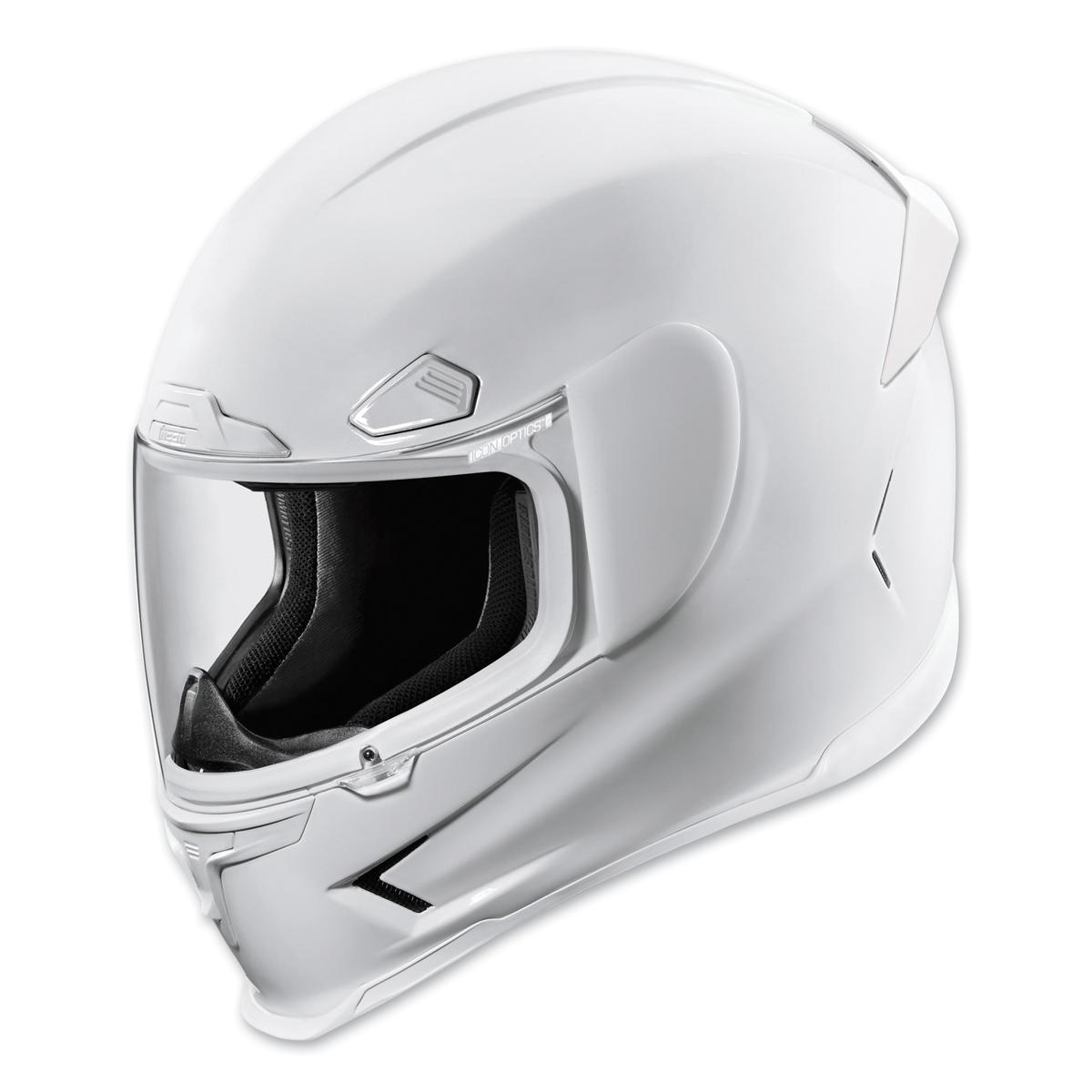 ICON Airframe Pro Gloss White Full Face Helmet
